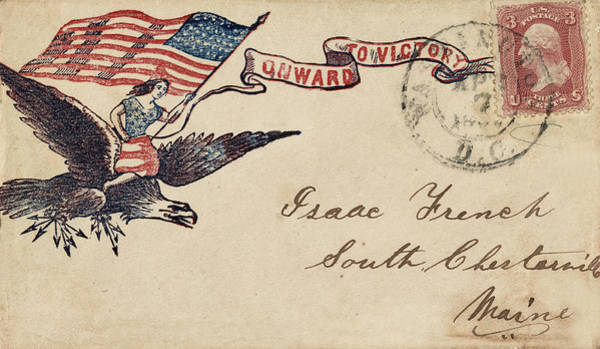 Photograph - Civil War Letter 18 by Andrew Fare