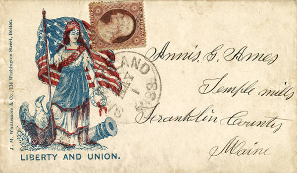 Photograph - Civil War Letter 2 by Andrew Fare