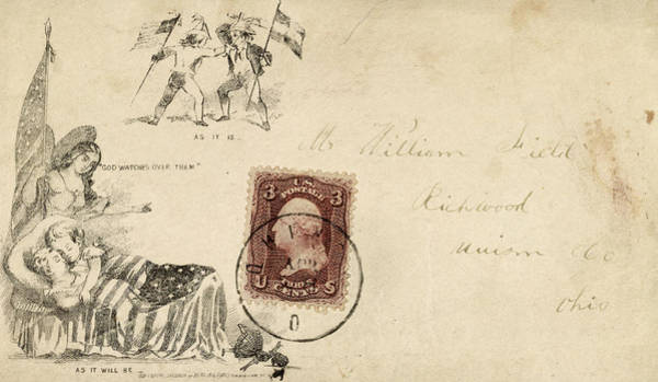 Photograph - Civil War Letter 21 by Andrew Fare