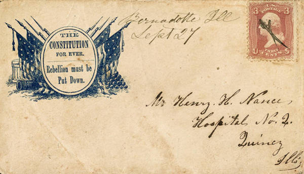Photograph - Civil War Letter 25 by Andrew Fare