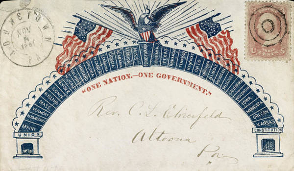 Photograph - Civil War Letter 3 by Andrew Fare