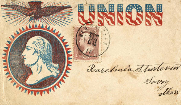 Photograph - Civil War Letter 5 by Andrew Fare