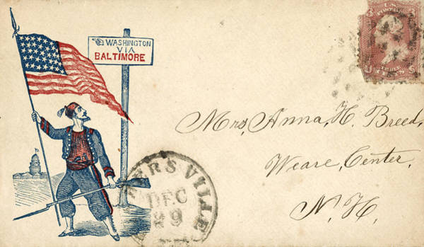 Photograph - Civil War Letter 6 by Andrew Fare