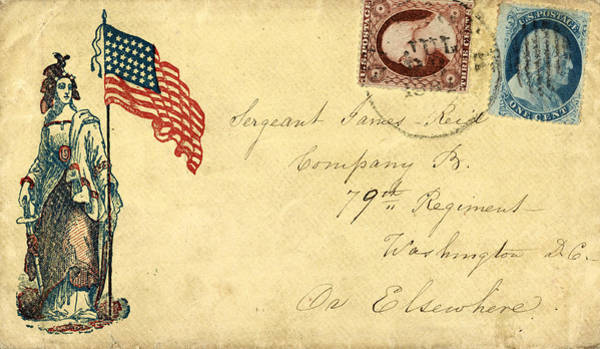 Photograph - Civil War Letter 7 by Andrew Fare