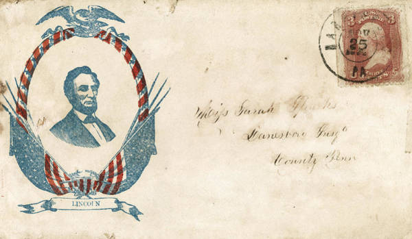 Photograph - Civil War Letter 8 by Andrew Fare