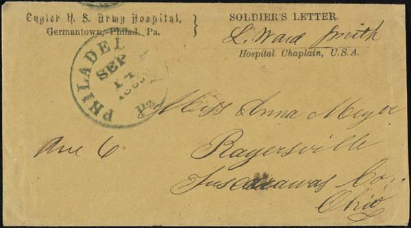 Postmark Painting - Civil War Letter, C1862 by Granger