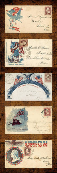 Photograph - Civil War Letters 1 by Andrew Fare