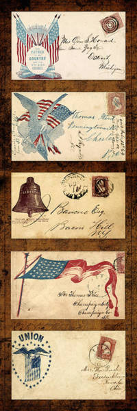 Photograph - Civil War Letters 3 by Andrew Fare