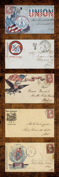 Photograph - Civil War Letters 4 by Andrew Fare
