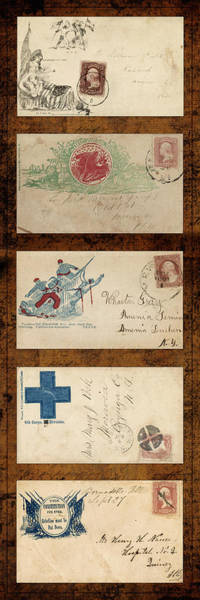 Photograph - Civil War Letters 5 by Andrew Fare