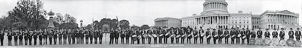 Wall Art - Photograph - Civil War Musicians Washington Dc by Fred Schutz Collection