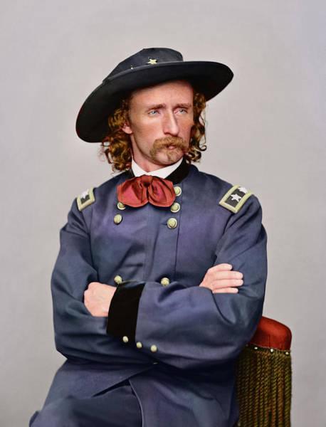 Wall Art - Photograph - Civil War Portrait Of Major General by Stocktrek Images