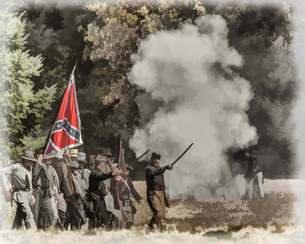 Photograph - Civil War Rebels by Wes and Dotty Weber