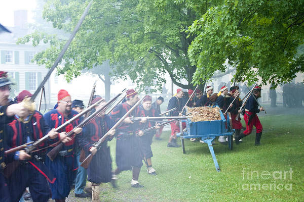 Photograph - Civil War Reenactment 2 by Tom Doud