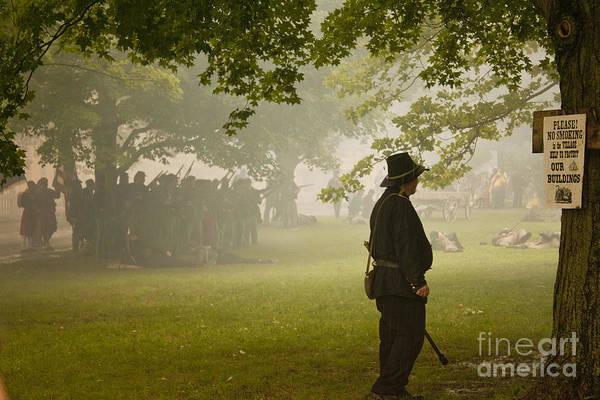 Civil War Reenactment 3 Art Print