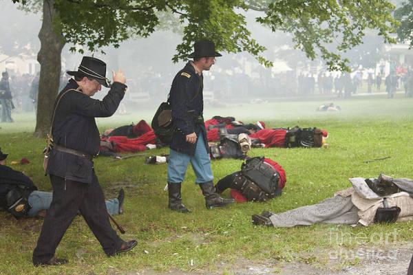 Civil War Reenactment 4 Art Print