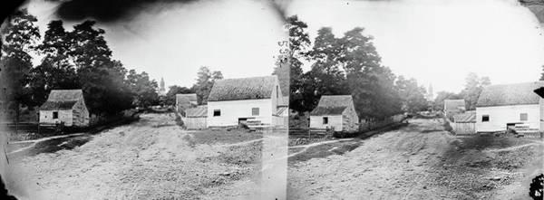 Warrenton Wall Art - Photograph - Civil War Warrenton, 1862 by Granger