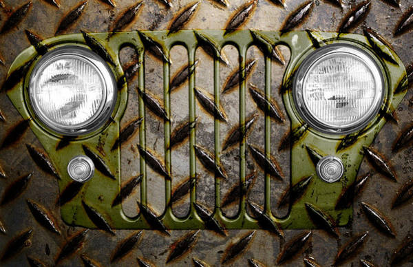 Photograph - Civilian Jeep- Olive Green by Luke Moore