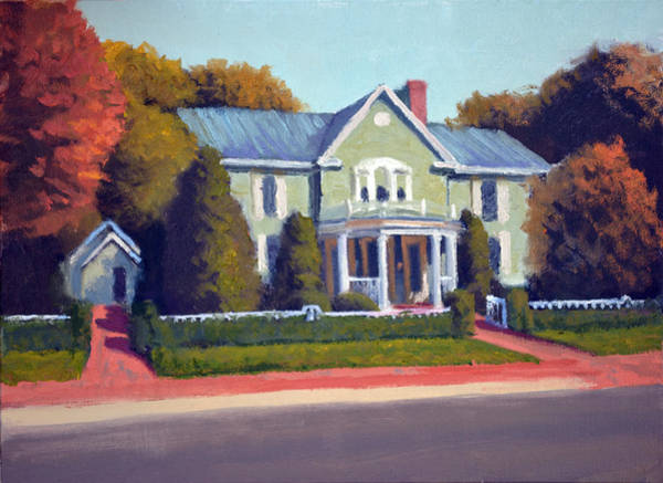 The Restaurant Painting - Claiborne House Autumn by Armand Cabrera