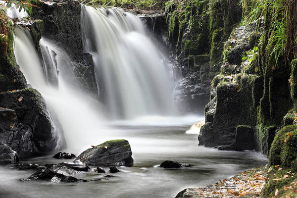 Photograph - Clare Glens Waterfall Limerick Ireland by Pierre Leclerc Photography