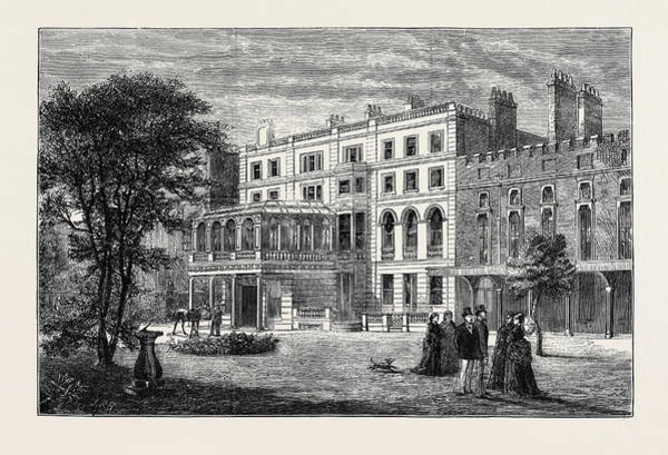 Wall Art - Drawing - Clarence House, Town Residence Of The Duke And Duchess by English School