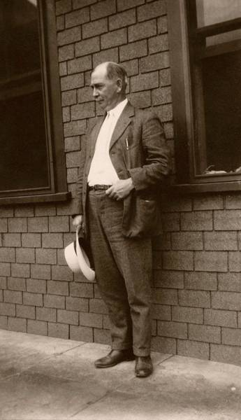 1921 Photograph - Clarence Mcclung by American Philosophical Society