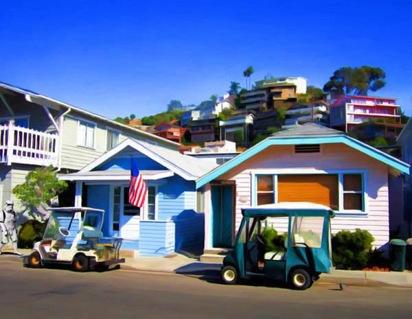 Neighborhood Painting - Claressa Avenue by Snake Jagger