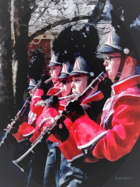 Photograph - Clarinets And Flutes In The Parade by Susan Savad
