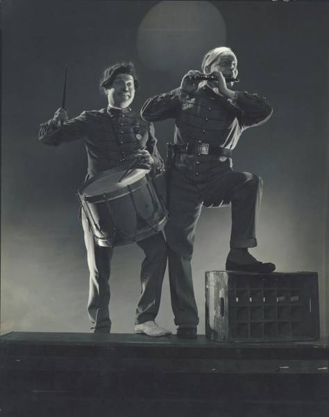 Wall Art - Photograph - Clark And Mccullough In Strike Up The Band by Edward Steichen