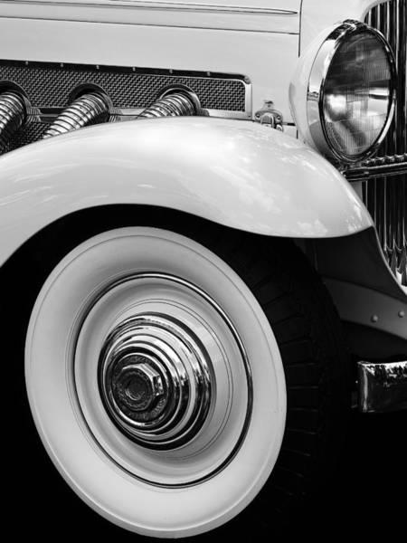 Photograph - Clark Gable Duesenberg by James Howe