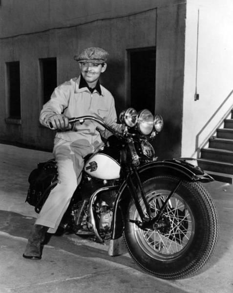Clark Gable Wall Art - Photograph - Clark Gable by Retro Images Archive