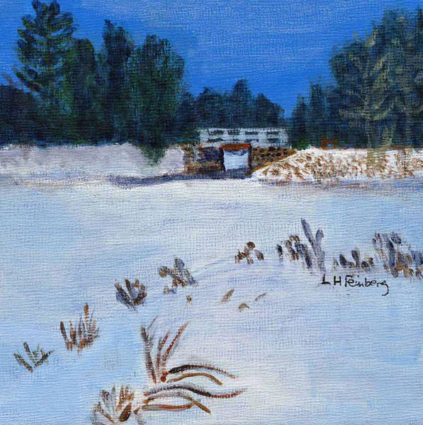 Painting - Clarks Pond by Linda Feinberg