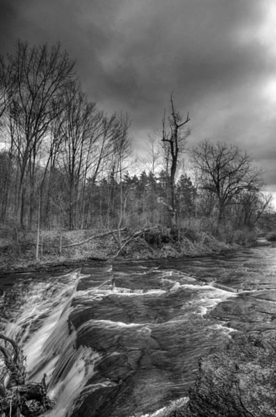 Photograph - Clarksburg Falls 1833 by Guy Whiteley