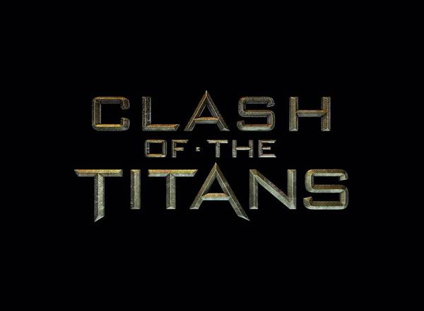 The Clash Wall Art - Digital Art - Clash Of The Titans - Logo by Brand A