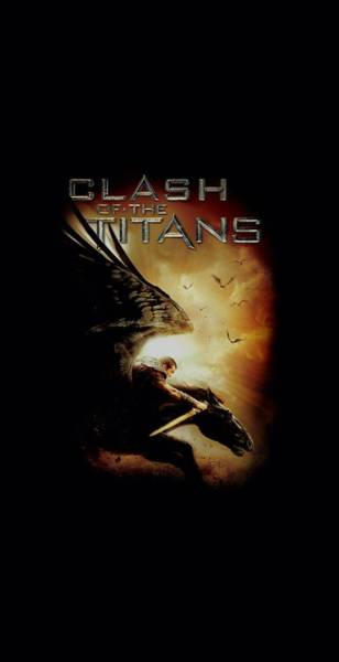 The Clash Wall Art - Digital Art - Clash Of The Titans - Pegasus by Brand A