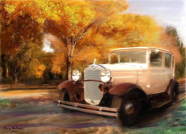 Clasis Ford Art Print