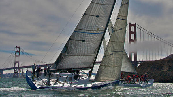 Photograph - Classic Bay Sailing by Steven Lapkin
