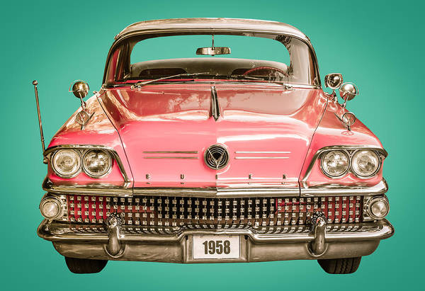 Wall Art - Photograph - Classic Buick 1958 Century Car by Mr Doomits