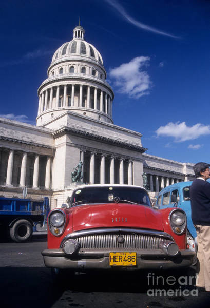 Photograph - Classic Buick In Havana by James Brunker