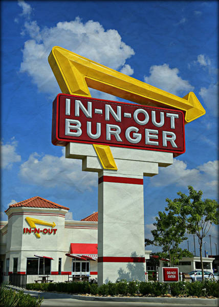 Diner Wall Art - Photograph - Classic Cali Burger 1.1 by Stephen Stookey