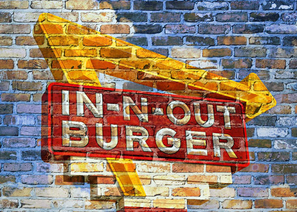Bacon Wall Art - Photograph - Classic Cali Burger 2.1 by Stephen Stookey