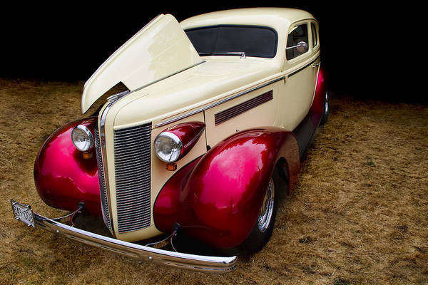Photograph - Classic Car - 1937 Buick Century by Peggy Collins