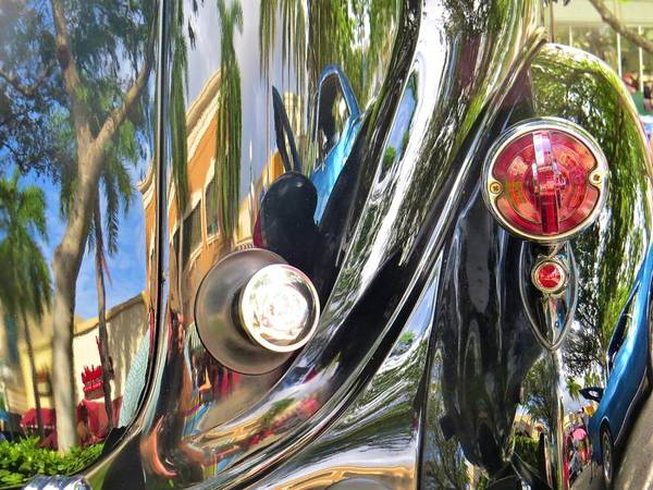 Photograph - Classic Car Abstract by Dart and Suze Humeston