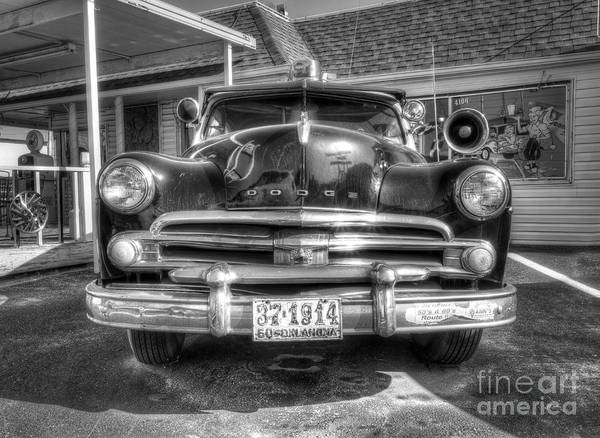 Historic Route 66 Photograph - Classic Car Along Route 66 by Twenty Two North Photography