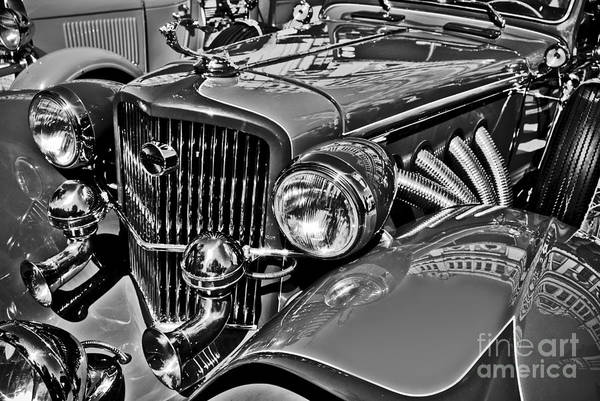 Photograph - Classic Car Detail by Carlos Alkmin