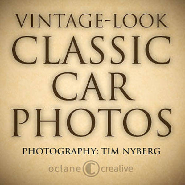 Painting - Classic Car Photo Title Nfs by Tim Nyberg