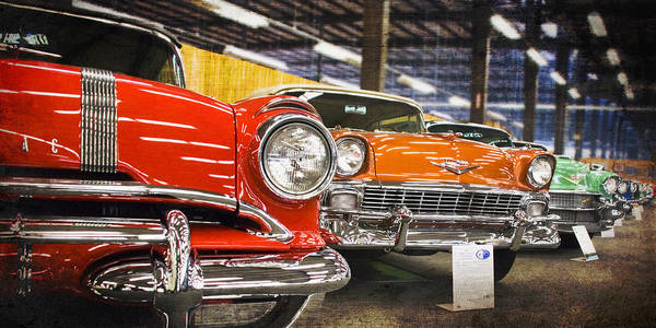 Photograph - Classic Car Row by Beverly Stapleton
