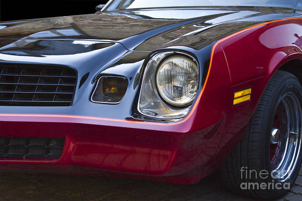 Photograph - Classic Chevrolet Camaro by Heiko Koehrer-Wagner
