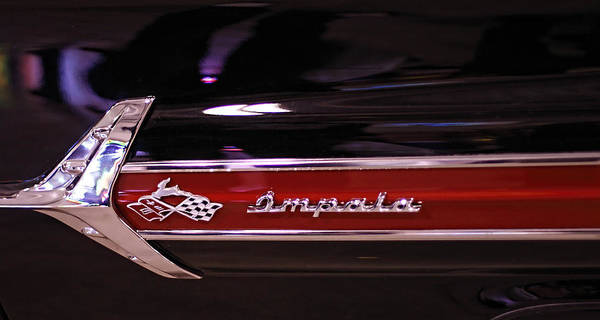 Photograph - Classic Chevy Impala 2 by Kristia Adams