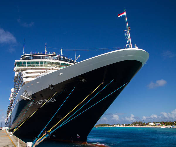 Photograph - Classic Cruise Ship 2 by Arthur Dodd